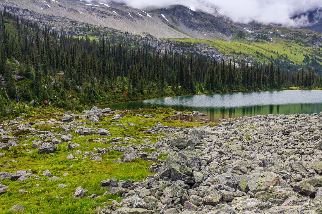 Hiking Athabasca Pass